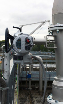Rotork IQ modulating actuators supporting wastewater management in Milan