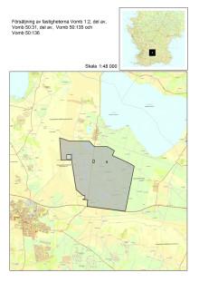 Karta Vomb markförsäljning Sydvatten