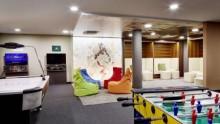 Neue Teenie Lounge im Wellness- und Familienhotel Feldhof in Naturns