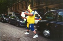 'Banana Man' charity volunteer is convicted and sentenced following trial