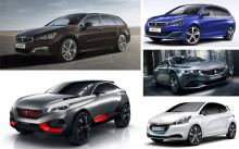 Peugeot på bilsalongen i Paris: Världspremiär för 508 och 308 GT - flera spännande konceptbilar