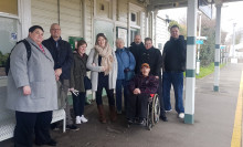 Charity works with Southern to improve access at Eastbourne train station