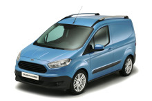 Ny Ford Transit Courier med global debut i Birmingham.