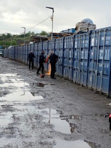 UPDATE: Stolen property and £50k recovered from container yard