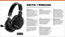 Najważniejsze funkcje Arctis 1 Wireless