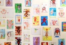 """Projekt Malwettbewerb: """"Bären mit Herz"""" zieren nun das Kinderhospiz"""