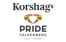Korshags är stolt partner till Pride Falkenberg