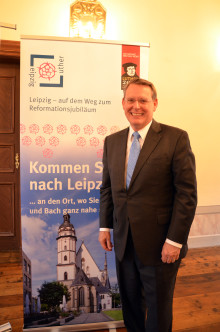 Houstoner Reverend Dr. Robert Moore ist Leipzigs Reformationsbotschafter in den USA
