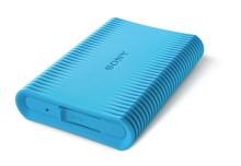 Il nuovo hard disk antiurto firmato Sony garantisce un salvataggio e un backup sicuro dei dati anche negli ambienti più insidiosi