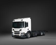 Neuer Hybrid-Lkw von Scania