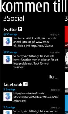 Mobiloperatören 3 släpper app för Windows Phone 7 – 3Sverige är appen för 3-kunder som vill ha koll