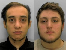 Two men jailed for robbing schoolboy