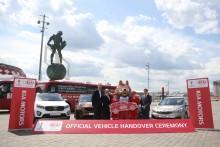 Kia sørger for transport i FIFA Confederations Cup.