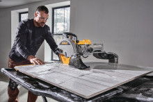 DEWALT Offers New 10-In. High Capacity Wet Tile Saw