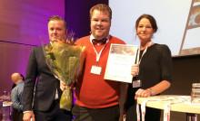Riksbyggens Johan Paulsson utsedd till Årets Tekniska Förvaltare