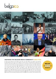Belga 100 - parution dans les éditions print