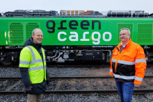 Green Cargo is first in the Nordics to put Eurodual locomotives into service