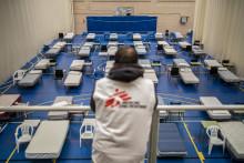 Läkare Utan Gränser trappar upp arbetet mot coronapandemin
