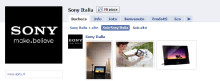 A Sony Italia piace Facebook