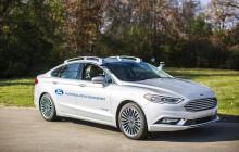 Ford avslöjar nästa generations självkörande Fusion-hybrid