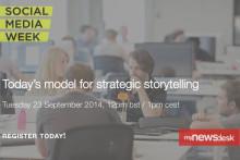 【オンラインイベント情報】Social Media Week London「戦略的なストーリーテリングのためのニュースルームとは」