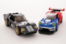 LEGO® modely úspěšných vozů Ford z Le Mans mohou inspirovat budoucí závodníky, inženýry a designéry