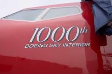 Norwegian vastaanotti tuhannennen Boeingin 737-800 Sky Interior -koneen