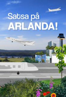 Rapport: Satsa på Arlanda