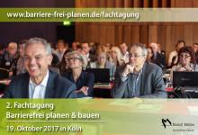 """2. Fachtagung """"Barrierefrei planen & bauen"""""""