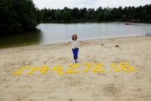 Utterly quackers fundraising at Center Parcs