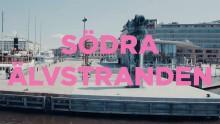 Framtidens vuxna göteborgare utforskar Södra Älvstranden i ny film