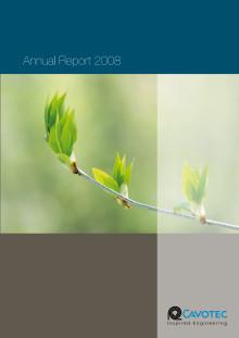 Cavotec MSL - Annual Report 2008