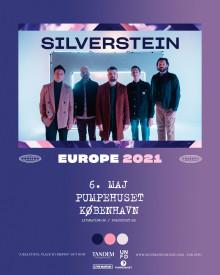 Post-hardcore/EMO bandet Silverstein gæster Danmark til maj.