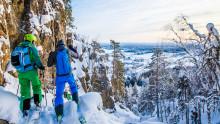 Tavelsjö Vintertoppar – kul vandringsnyhet i Umeå