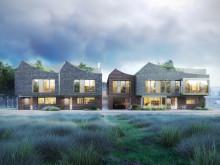 Sagolikt nytt mikrokvarter byggs vid havet i Borstahusen