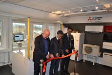 Invigning av nya lokaler för Mitsubishi Electric Lund