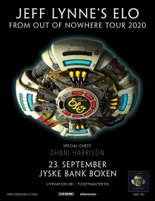 JEFF LYNNE'S ELO TILFØJER DHANI HARRISON TIL 2020 'FROM OUT OF NOWHERE' TOUREN