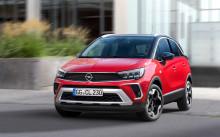 Nya Opel Crossland – nytt utseende, nya funktioner