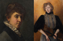 Portraits of women painters for Nationalmuseum's collections