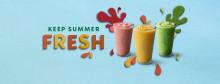 Svalka dig i sommar med Starbucks uppfriskande nyhet Frozen Iced Teas!
