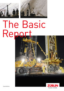 ZÜBLIN Spezialtiefbau: The Basic Report