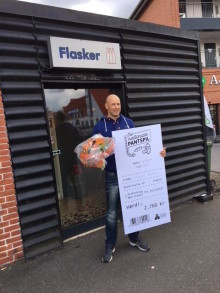 Henrik Nielsen fra Aars vandt i Det Nationale Pantspil: Jeg troede, det var parkeringsvagten