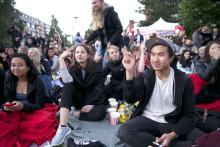Inviterer til gratis friluftskino på Kringsjå studentby
