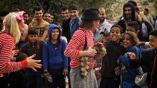Clowner utan Gränser gör akutinsats till Lesbos