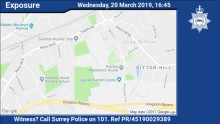 Can you help? Appeal for information following indecent exposure in Hinchley Wood area