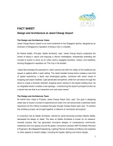 [FACT SHEET] Design & Architecture