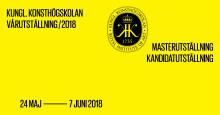 Nu öppnar Kungl. Konsthögskolans Vårutställning 2018