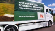 Arlas nya biogasdrivna lastbilar sluter kretsloppet i biogasrevolutionen