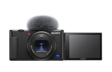 Sony Expands Range of Vlogging Solutions with Introduction of Vlog Camera ZV-1 and FDR-AX43 Compact 4K Handycam®