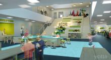 Samspel och utveckling när Villanskolan med idrottshall byggs